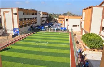 افتتاح مدرسة محمد صلاح الثانوية الصناعية في بسيون بعد تطويرها بتكلفة 12 مليون جنيه | صور