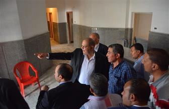 محافظ الغربية يتفقد أعمال إنشاء مقر مجلس مدينة بسيون   صور