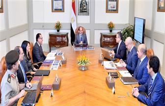 الرئيس السيسي يطلع على الموقف التنفيذي لمشروع المتحف المصري الكبير