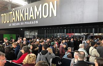 1.4 مليون زائر.. معرض توت عنخ آمون بباريس يحطم الأرقام القياسية| صور