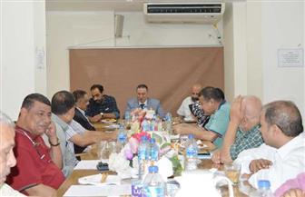 توجيهات الرئيس السيسى .. محور مناقشة اجتماع القيادات العمالية باتحاد العمال | صور