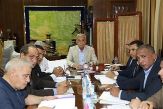 محافظ المنوفية يعقد اجتماع مجلس إدارة المنطقة الحرة العامة بشبين الكوم