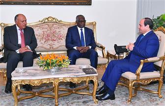 تفاصيل لقاء الرئيس السيسي مع وزير خارجية غينيا