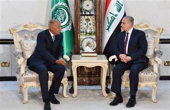 وزير الخارجية العراقي يستقبل الأمين العام للجامعة العربية