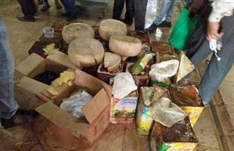 ضبط 3 أطنان جبن فاسد داخل مخزن مواد غذائية بالإسكندرية