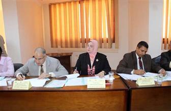 وكيلة تعليم كفر الشيخ تترأس لجنة الموارد لاختيار مدراء ووكلاء الإدارات التعليمية