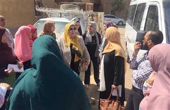 «قومى المرأة» بالقليوبية يختتم حملة «طرق الأبواب» لمواجهة الشائعات