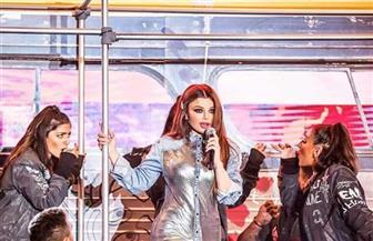 أحدث إطلالات هيفاء وهبي في حفلها الغنائي بلبنان | صور