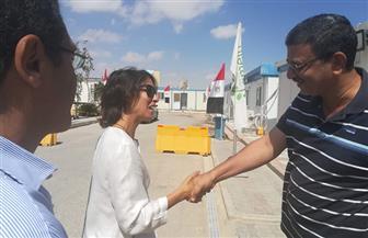 قنصل فرنسا باﻹسكندرية تزور العلمين الجديدة وتبدى إعجابها بالمنطقة التراثية   صور