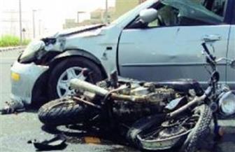 مصرع شخص وإصابة 4 من أسرة واحدة فى حادث تصادم بالمنيا