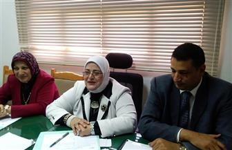 وكيلة تعليم كفر الشيخ تترأس لجنتين لاختيار موجه عام اللغة الإنجليزية| صور