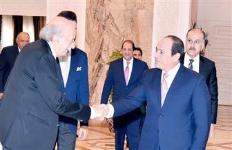 الرئيس السيسي يؤكد حرص مصر على أمن واستقرار لبنان خلال لقائه وليد جنبلاط