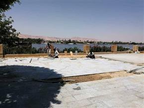 رئيس مدينة الأقصر: كورنيش النيل شهد ميلادا جديدا.. وسيتم الانتهاء منه قبل تنظيم أوبرا عايدة | صور
