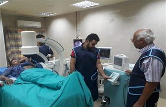 شفاء ٢٦مريضا بعد تفتيت وإزالة حصوات الكلى بمستشفى طور سيناء العام
