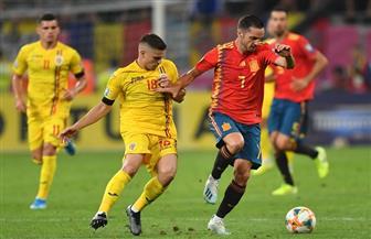 """إسبانيا تنتزع فوزا تاريخيا من رومانيا في عقر دارها بتصفيات """"يورو 2020""""  صور"""