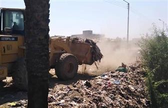 رفع 1927 طن قمامة ومخلفات صلبة خلال حملات نظافة في مراكز سوهاج| صور
