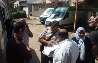 الكشف على 1500 مواطن مجانا في قافلة طبية بقرية الطرحة في دمياط| صور