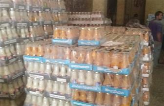 إعدام 15 ألف عبوة عصير تحوي بكتيريا عنقودية في البداري| صور