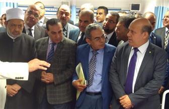 """رئيس حي باب الشعرية: ساهمنا في تطوير مستشفى """"سيد جلال"""" التعليمي   صور"""