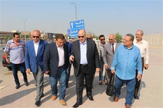 محافظ القاهرة يتابع تطوير مسار مترو مصر الجديدة | صور