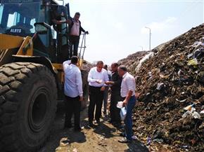 محافظ الشرقية يتفقد مصنع تدوير القمامة| صور