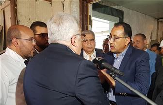 رئيس الوزراء يتفقد مشروع تطوير كورنيش النيل بالمنيا ويطالب بسرعة الانتهاء منه كاملا| صور