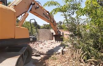 إزالة 11 حالة تعد على الأراضي الزراعية بمركز ومدينة الفتح بأسيوط
