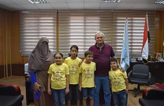 """فوز 4 أطفال من  مطروح في مسابقة """"يوسي ماس"""" لحل المسائل الرياضية المعقدة"""