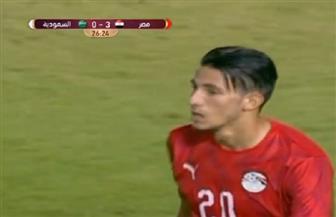 المنتخب الأوليمبي يسجل الهدف الثالث فى شباك نظيره السعودي