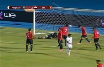 الشوط الأول.. المنتخب الأوليمبي يتقدم على نظيره السعودي بثلاثية مقابل هدف