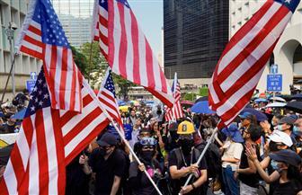 متظاهرو هونج كونج يطلبون من ترامب تحرير المدينة من الصين   صور
