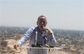 وزيري يعلن تفاصيل افتتاح مقبرتين بالبر الغربي بمحافظة  الأقصر  صور
