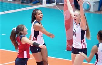 أمريكا تهزم كوريا (3-0) في مونديال ناشئات الطائرة بالإسماعيلية
