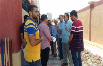 محافظ شمال سيناء يتفقد عددا من المدارس قبل بدء العام الدراسي الجديد | صور
