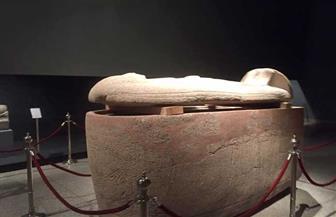 لأول مرة منذ اكتشافه.. عرض تابوت الملكة تاوسرت بمعبد الأقصر  صور