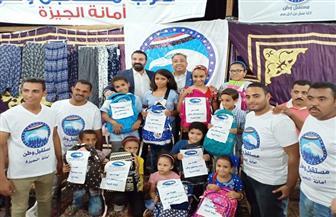 محمد سلطان يشارك طلبة المدارس استعدادهم للعام الدراسي الجديد| صور