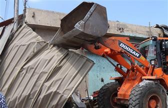 حملات مكبرة لإزالة الإشغالات بنطاق 7 أحياء بالإسكندرية
