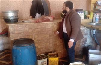 تحرير 21 محضرا وإعدام مواد غذائية في رأس السنة بمطروح | صور