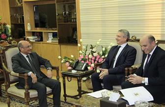 وزير العدل يبحث مع سفير المجر التعاون القضائي