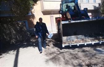 رفع 90 طن تراكمات ومخلفات في حملة مكبرة بمدينة الطود بالأقصر