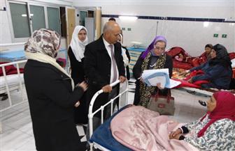 """""""صحة الغربية"""" تكلف بتوسعة العناية المركزة بمستشفى صدر طنطا"""