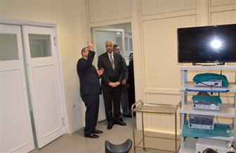 افتتاح أعمال تطوير مستشفى الشاطبي الجامعي بالإسكندرية | صور