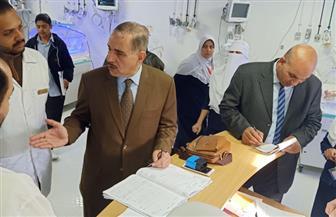 محافظ كفرالشيخ يتفقد مستشفى برج البرلس المركزي| صور