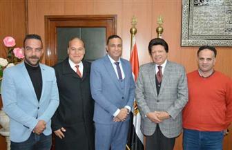 محافظ الدقهلية يلتقي مسئولي شركة نيل القاهرة للأتوبيس النهري |صور