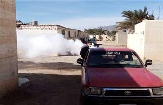 مسح 935 خزان مياه خلال حملة لمكافحة الأمراض المتوطنة بمدن البحر الأحمر | صور