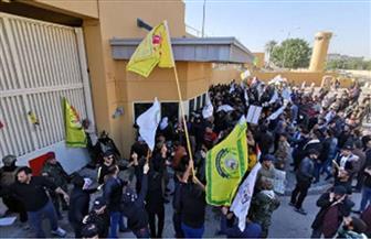 بدء انسحاب أنصار الحشد الشعبي من أمام السفارة الأمريكية في بغداد