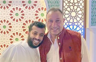 تركى آل شيخ يكشف عن زيارة الخطيب له بالسعودية