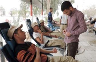 حملة للتبرع بالدم بمشاركة ضباط ومجندى إدارة قوات الأمن بجنوب سيناء