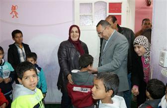 محافظ شمال سيناء يتفقد إحدى دور الأيتام ويتناول الطعام مع أطفالها | صور