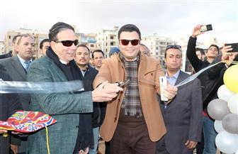 افتتاح مشروع شارع مصر- شباب أكتوبر بمدينة 6 أكتوبر | صور